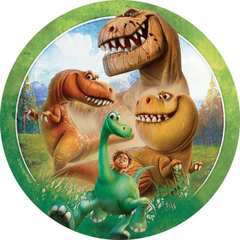 Открытка с динозаврами на день рождения, открытка родился