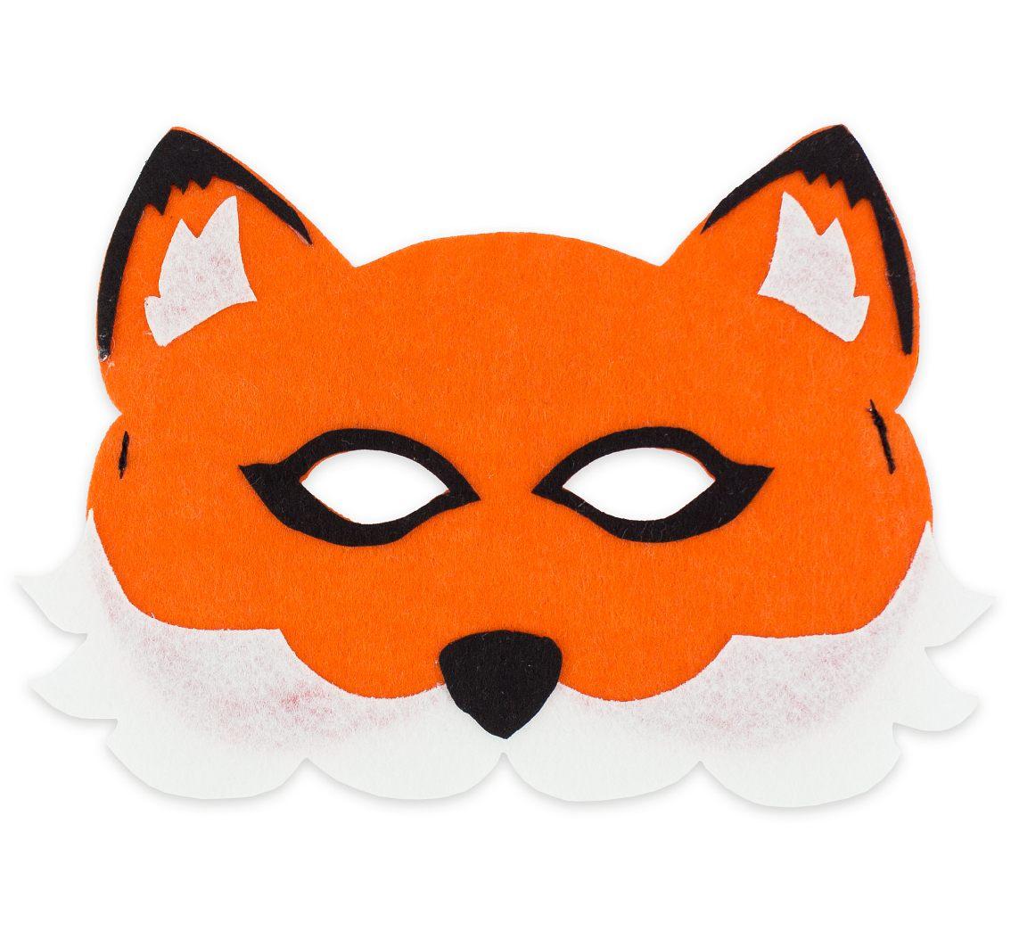 Лисичка Картинки Фетровая маска детей Лисичка, купить маски из фетра лисичка